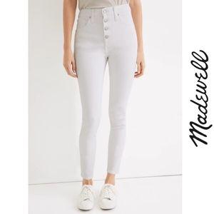 Madewell Curvy Highrise Skinny Crop Jean 29T